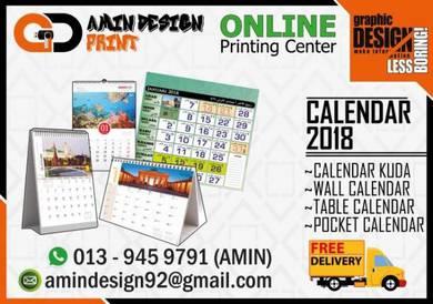 Mahu cetak calendar / kalendar