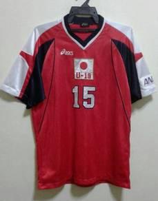 Rare jersey asics 90s JAPAN U19 NO 15