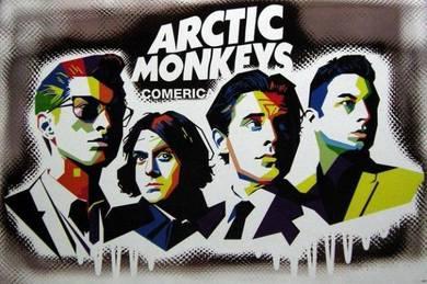 Poster ARCTIC MONKEYS Comeric V 3