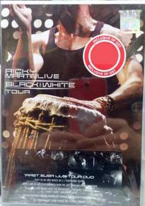 DVD Ricky Martinlive Black And White Tour