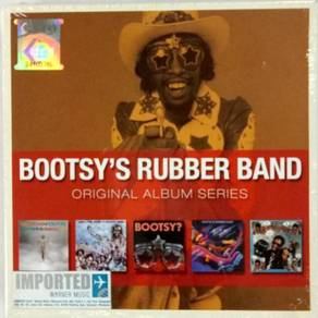 IMPORTED CD BOOTSY'S RUBBER BAND Ori Album Series