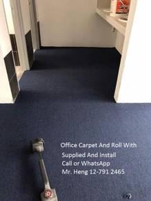 Plain Design Carpet Roll - with install 34yhh54nj