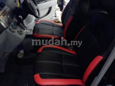 Saga iswara semi leather seat cover seat