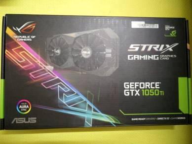 Asus Geforce Strix GTX1050Ti 4G Gaming
