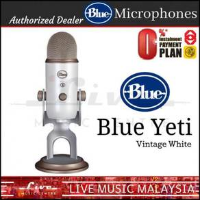 Blue Microphones Yeti USB Microphone Mic,Vin White