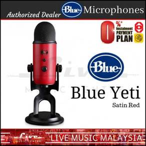 Blue Microphones Yeti USB Microphone Mic Satin Red