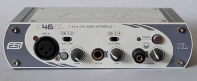 ESI Audio 6 outputs 4 input USB audio interface