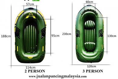 COMMANDO Portable Inflatable Boat PVC Boat