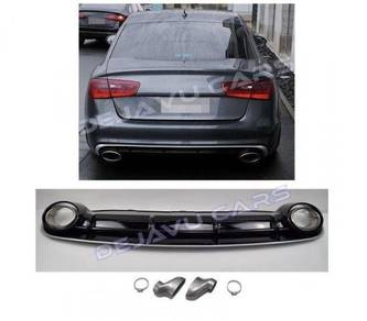 Audi a6 c7 rs style rear diffulser