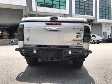 Hilux Revo Ranger Navara 4x4 Rear Steel Bumper