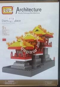 LoZ 9373 Daming Palace building Nano block