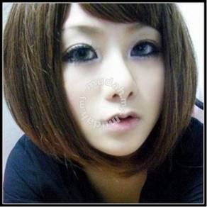 Wig Lady Oblique Bangs Bobo Hair style - LS409