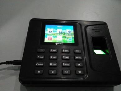 Time attendance recorder fingerprint