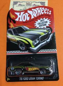 HW 76 FORD GRAN TORINO CoLLECTER EDITION 2017