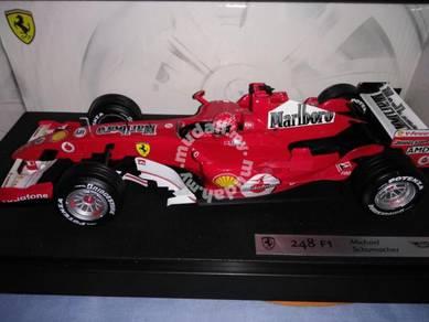 Hotwheels Ferrari 248F1 (Marlboro) Schumi