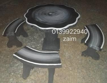 Set kerusi batu ZAIM