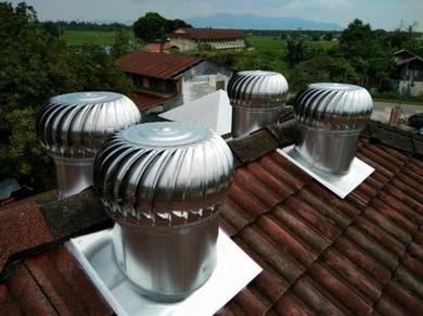 WMILL-US Wind Turbine Ventilator - KELANTAN