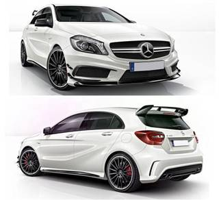 Mercedes BENZ W176 AMG A-CLASS A45 Full Bodykit