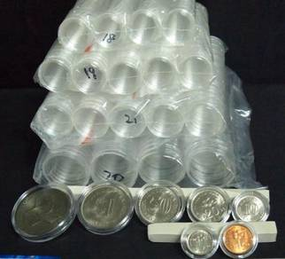 Coin Capsules (10 pcs)