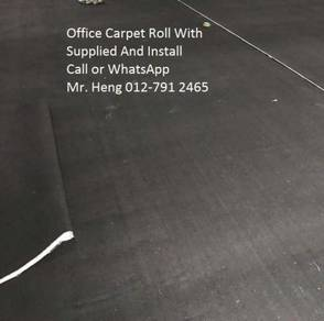 Modern Office Carpet roll with Install 54864jj