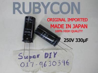 ORIGINAL JAPAN RUBYCON 250V 330uF capacitor