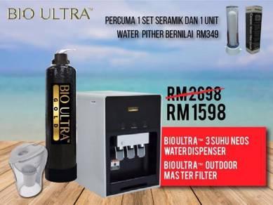 Combo Penapis Air Water Filter Air Alkali Neos N2