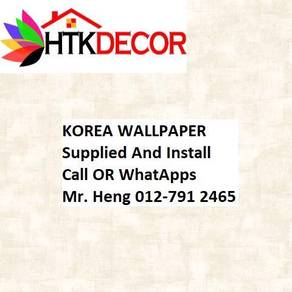 3D Korea Wall Paper with Installation 82NBW