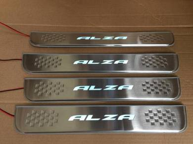 Perodua alza side step led