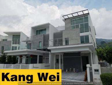Minden Garden Residence 3 Storey Semi D House_Gated & Guarded_Gelugor