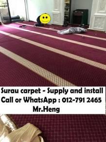 Masjid / Surau Carpet Sekali Siap Pasang PY89