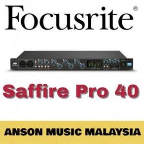 Focusrite Saffire Pro 40 FireWire Interface