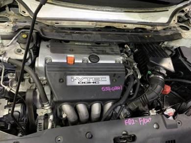 Honda civic fd2 sda k20z engine kosong