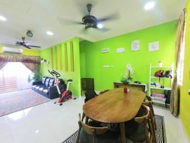RENOVATED CANTIK Townhouse Tmn Seri Alam Saujana Utama Sg Buloh