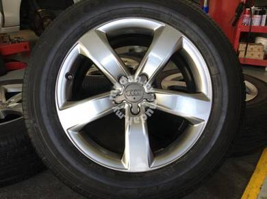 "Audi A4 A5 A6 A7 Q5 Original 18"" rim Tyre 18"