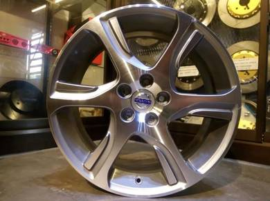 Volvo wheels 18inc for c30 v40 s80 xc60
