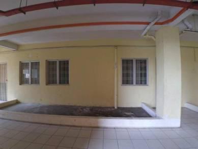 SHOP LOT YANG LUAS, APRT SRI DAHLIA (ground floor)