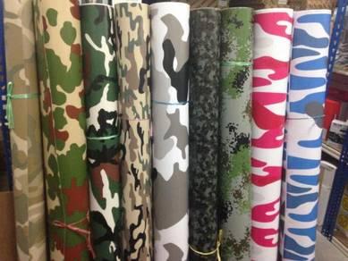 Army vinyl sticker wrap
