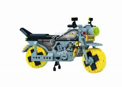 Bricks - Enlighten 0498 Motorcycle building block