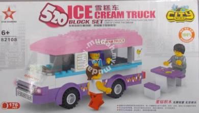 Bricks - SD 82108 Ice Cream Truck buiding block