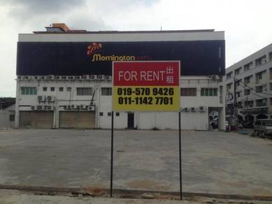 Land to let - suitable for car wash, cafe, hawker, centre of sitiawan