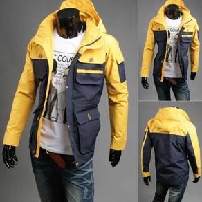 J99307 Military Hoodie Pocket Tactical Coat Jacket