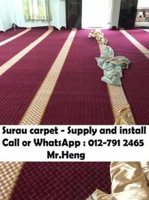 Mosque And Surau Carpet Supplier From Fact. MN57