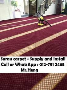 We save you save karpet Surau dan Masjid LB95