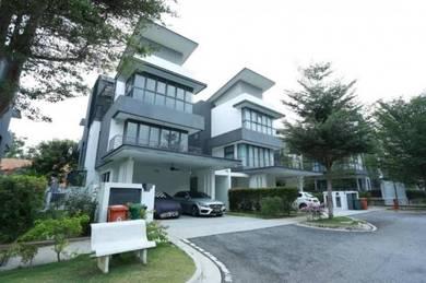 RUMAH UNTUK DIJUAL DI PUTRAJAYA Semi D 3 Storey Lake View Putrajaya