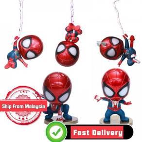 Avengers End game Spiderman Head Shaking Figurine