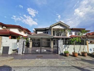 [beautiful decoration] 2 storey semi-d house taman melawati kl