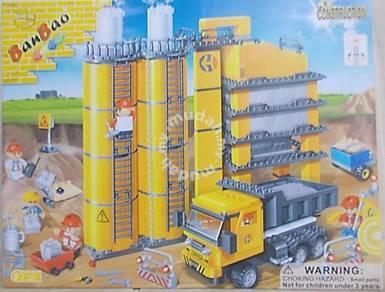 Bricks - Ban Bao 8532 Construction Silo building
