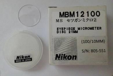 Nikon Eyepiece Micrometer 21mm