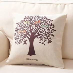Plant pillow case bantal sarung chair sofa perabot