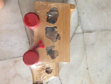 Education Wooden Toy car